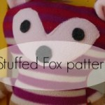Free Pattern Friday with Mae&K: Stuffed Fox pattern