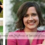 Interview #1: Stephanie of Swoodson Says
