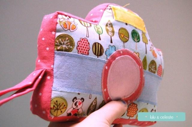 Little Photographer Camera sewn by Lulu & Celeste