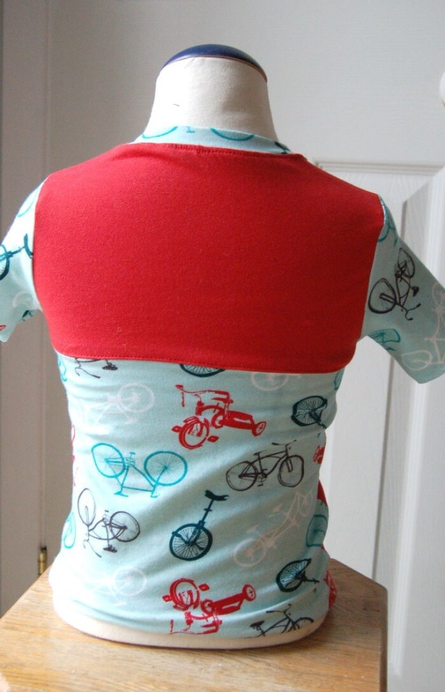 ADVTee Back sewn by Lulu & Celest