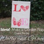 Guest Post: Sew a Garden Flag by Wally and Grace