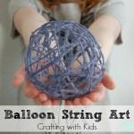 TSNEM February: Balloon String Art