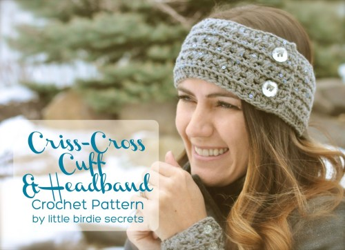 criss cross free pattern crochet headband