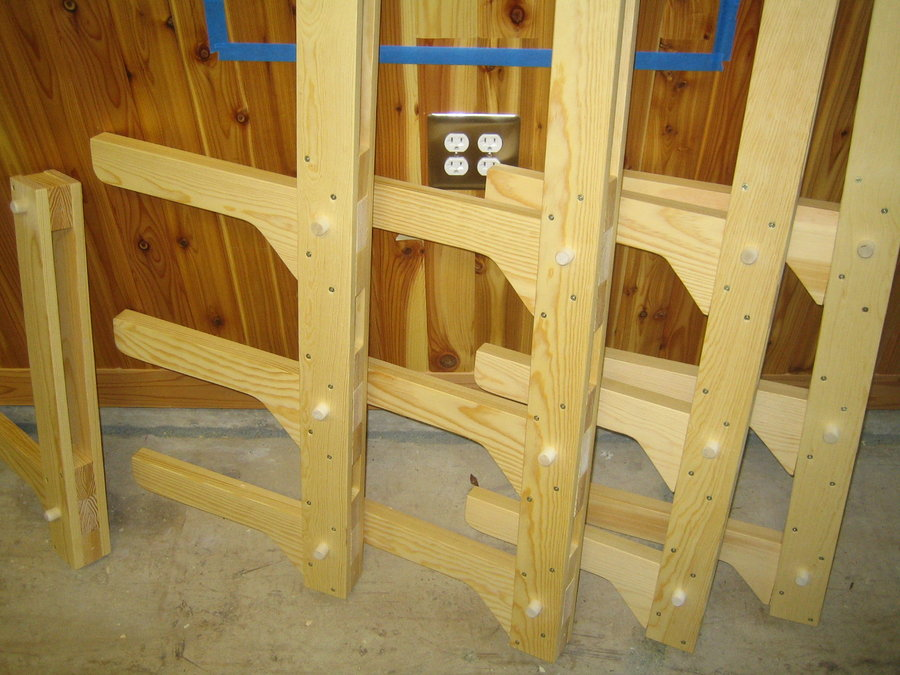 Wood Storage Rack Plans, Workshop… | Wood Project and DIY