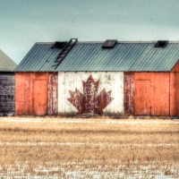 Painterly Farm Shed - Canada's
