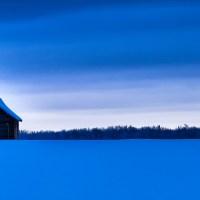 Homestead & Winter Skies