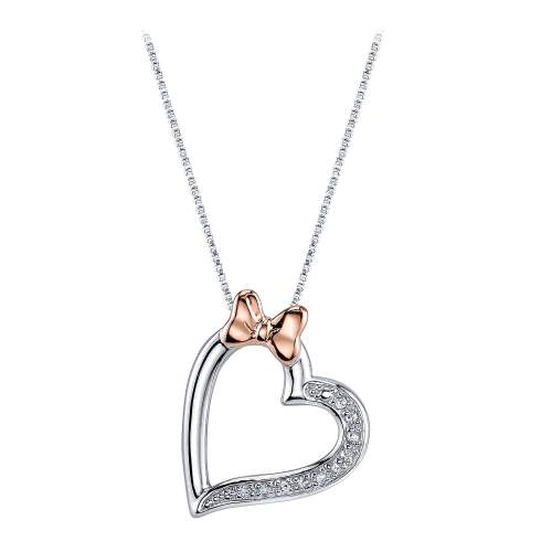 Medium Crop Of Diamond Heart Necklace