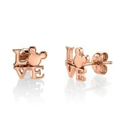 Small Of Rose Gold Earrings