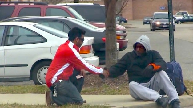 Kindness and Generosity Bring Two Men to Tears