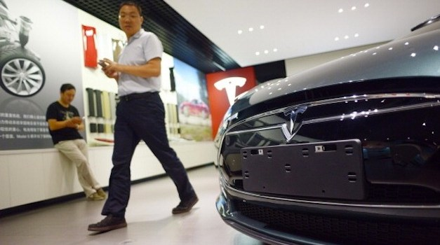 Tesla Expands in China
