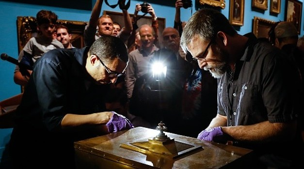 100-Year-Old Time Capsule Found and Opened in New York