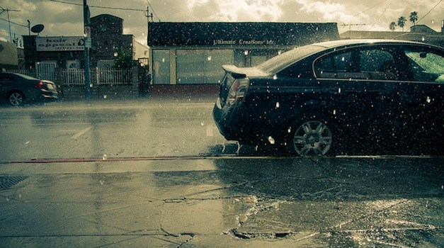 California – Where A Rain Storm Is Actually Good News