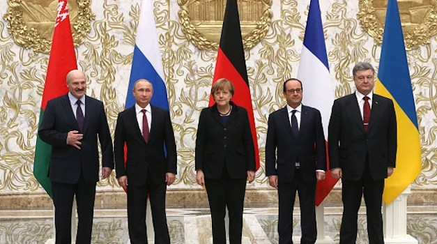 A Peace Agreement Has Been Reached between Russia and Ukraine