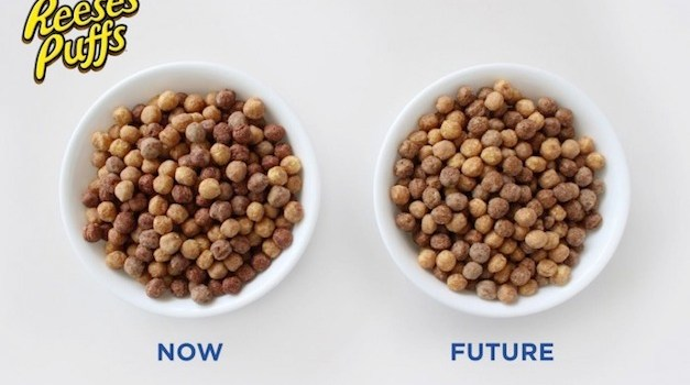 General Mills Removes Artificial Flavors from Reese's Puffs & Other Cereals