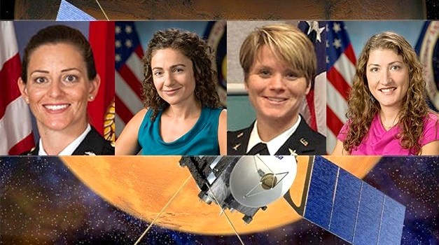 Four Female Astronauts Are Training To Be The First To Walk On Mars