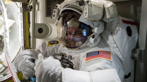 After a Record Setting Year In Space, Astronaut Scott Kelly Returns To Earth