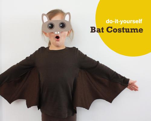 Costumino da pipistrello con pattern scaricabili