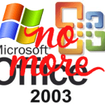 The End of XP and Office 2003 is NEAR