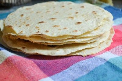 Homemade flour tortillas | lushesfood