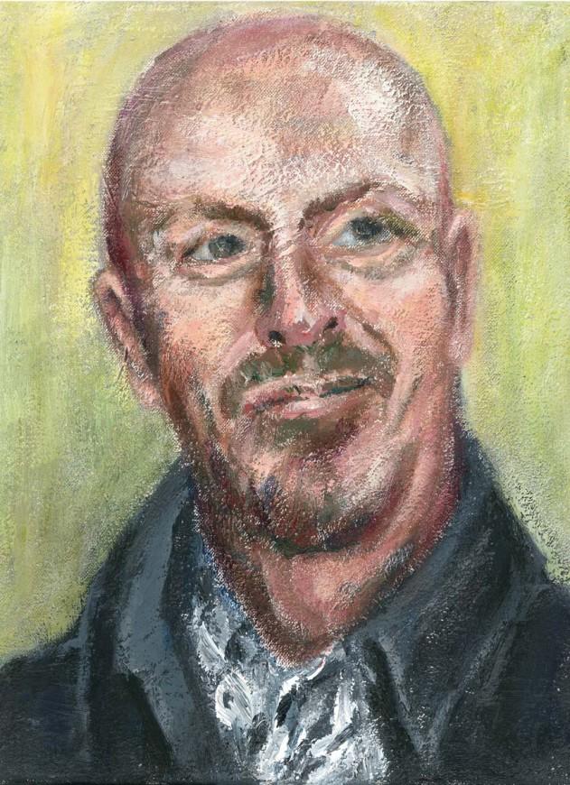Portraitstudie Steve Sidwell