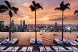 Vue du SkyPark sur Singapour
