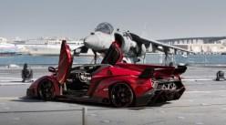 Lamborghini Veneno Roadster à Abu Dhabi