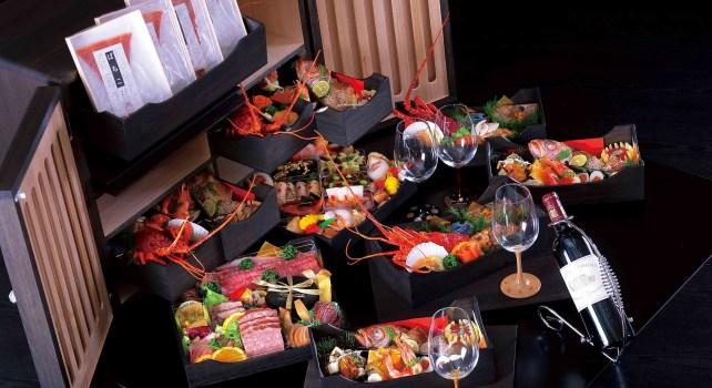 Kiwami : Hiroshi Fujisawa proposait un osechi de luxe pour fêter le nouvel an