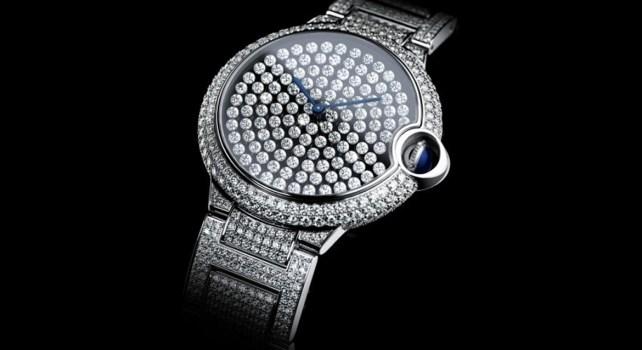 Cartier Ballon Bleu Serti Vibrant : La marque réinvente le sertissage