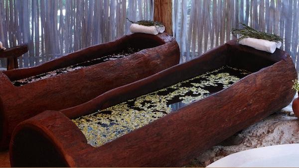 Authentic Mayan treatments at Wayak Spa