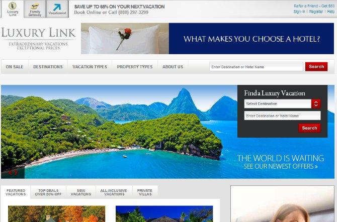luxurylink.com