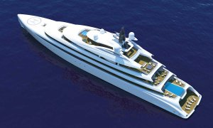 The A Group Presents 361ft Acuore Superyacht