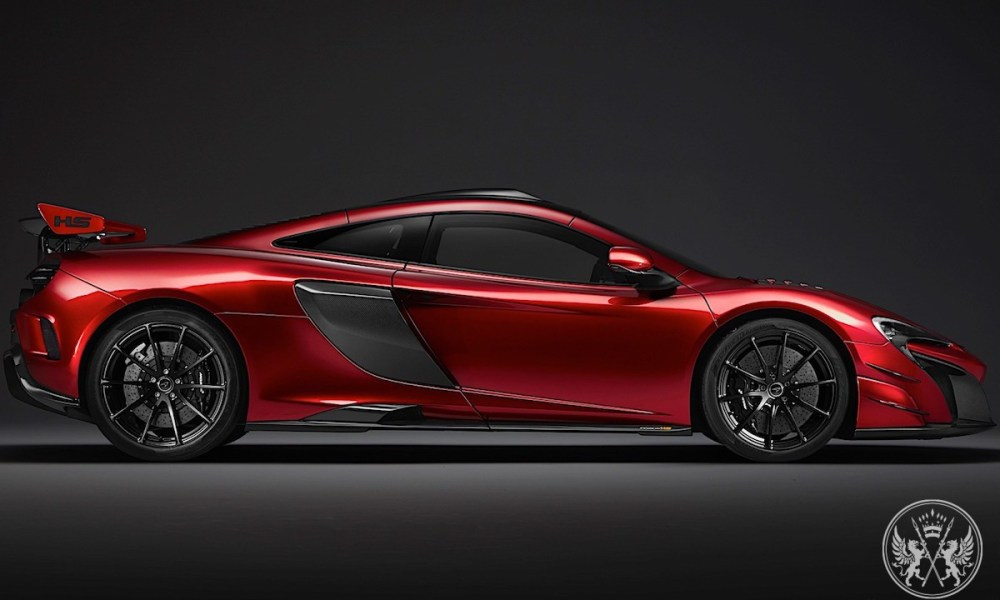 The 679-horsepower McLaren MSO HS Is Already Sold Out