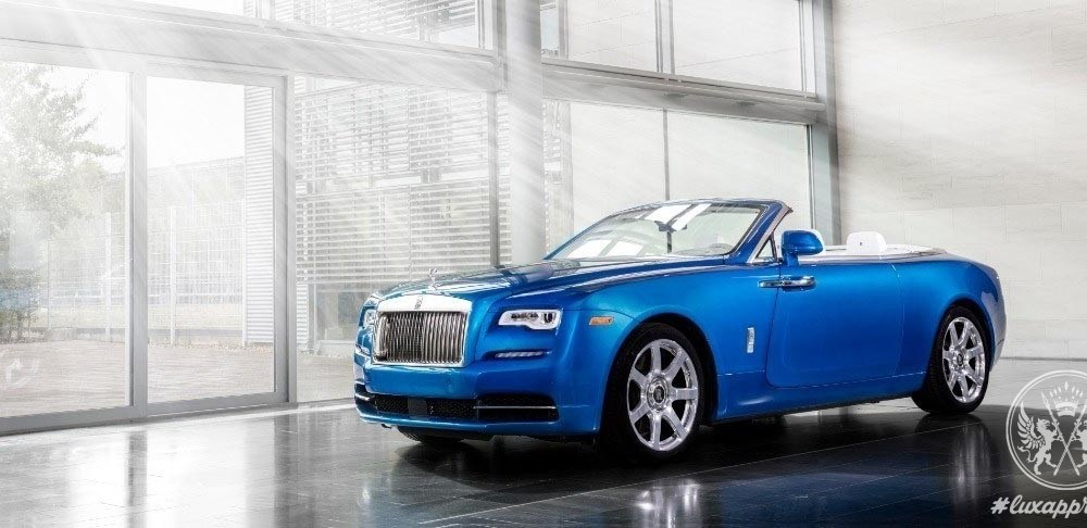 Three Bespoke Rolls-Royce Dawn Motor Cars Are Unveiled During Monterey Car Week