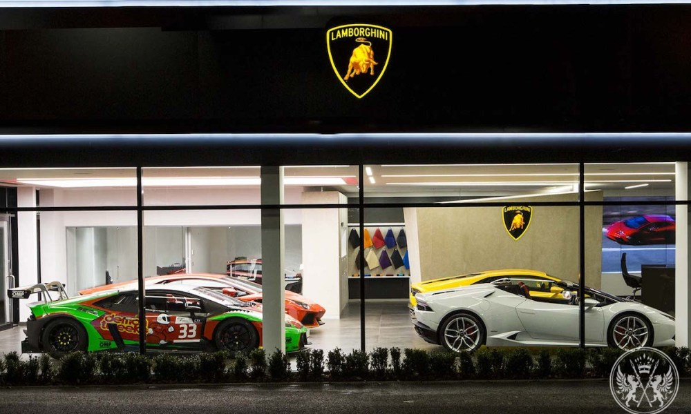 Lamborghini Launches A New Dealership Corporate Identity in Bristol
