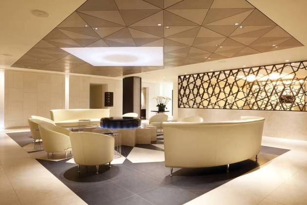 Qatar Airways Premimum Lounge Heathrow AIrport