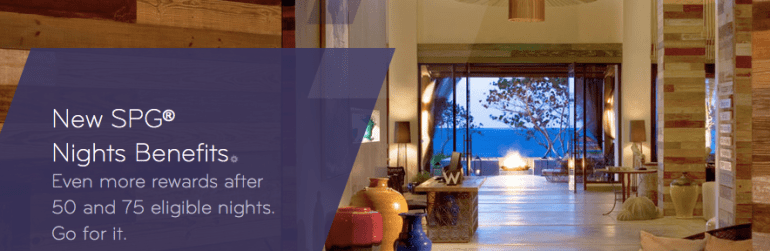 Starwood Preferred Guest Program New Benefits