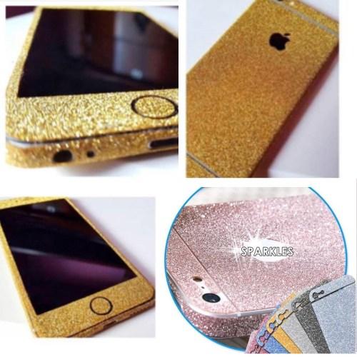 glitter sticker for iphone