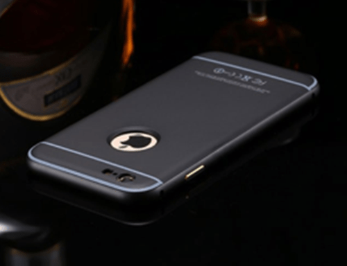 black bevel frame iphone case 2