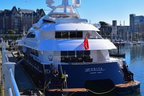 Superyacht Zenith Back In Victoria