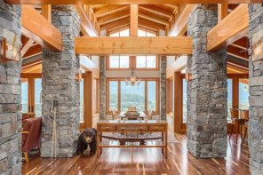 Rustic Meets Luxury Whistler Chalet