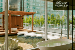 Fairmont Pacific Rim's $10,000 A Night Room