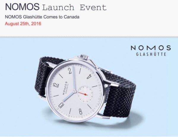 Roldorf & Co. nomos vancouver event