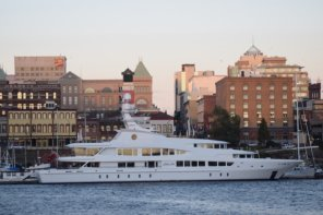 $60,000,000 Yacht Lady Lola In Victoria