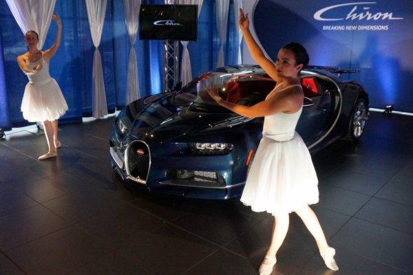 Bugatti Chiron in Vancouver