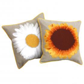Karenza & Co Daisy & Sunflower Cushions
