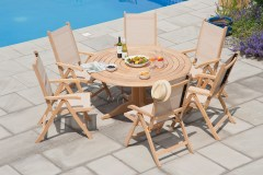Garden-House-Design-Bengal-Table-and-textilene recliners
