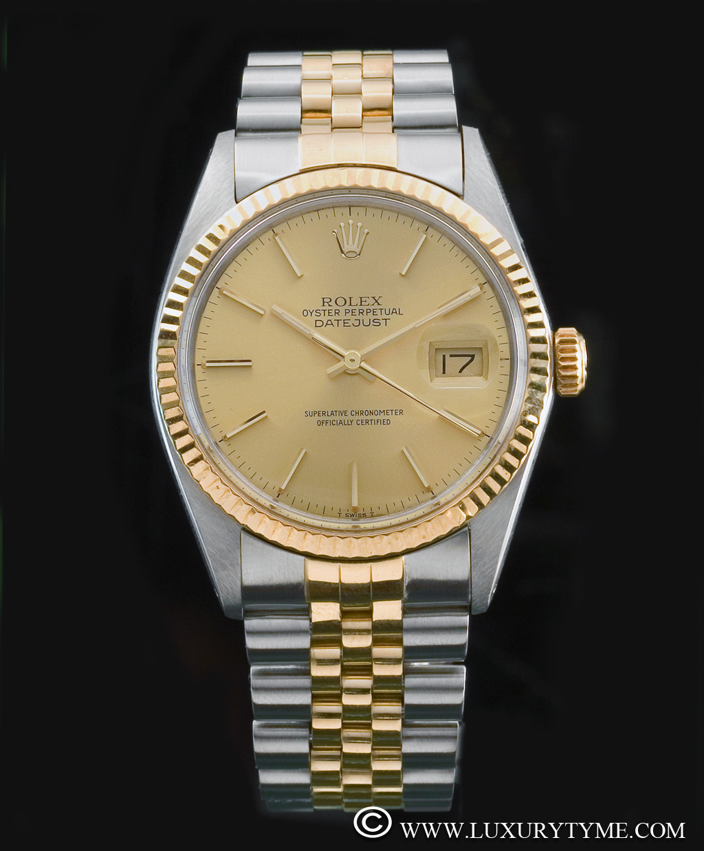 vintage rolex oyster perpetual datejust superlative chronometer officially certified
