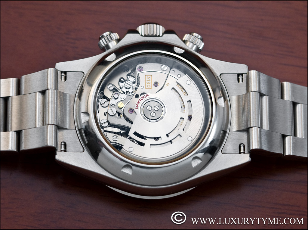 Rolex With Glass Back