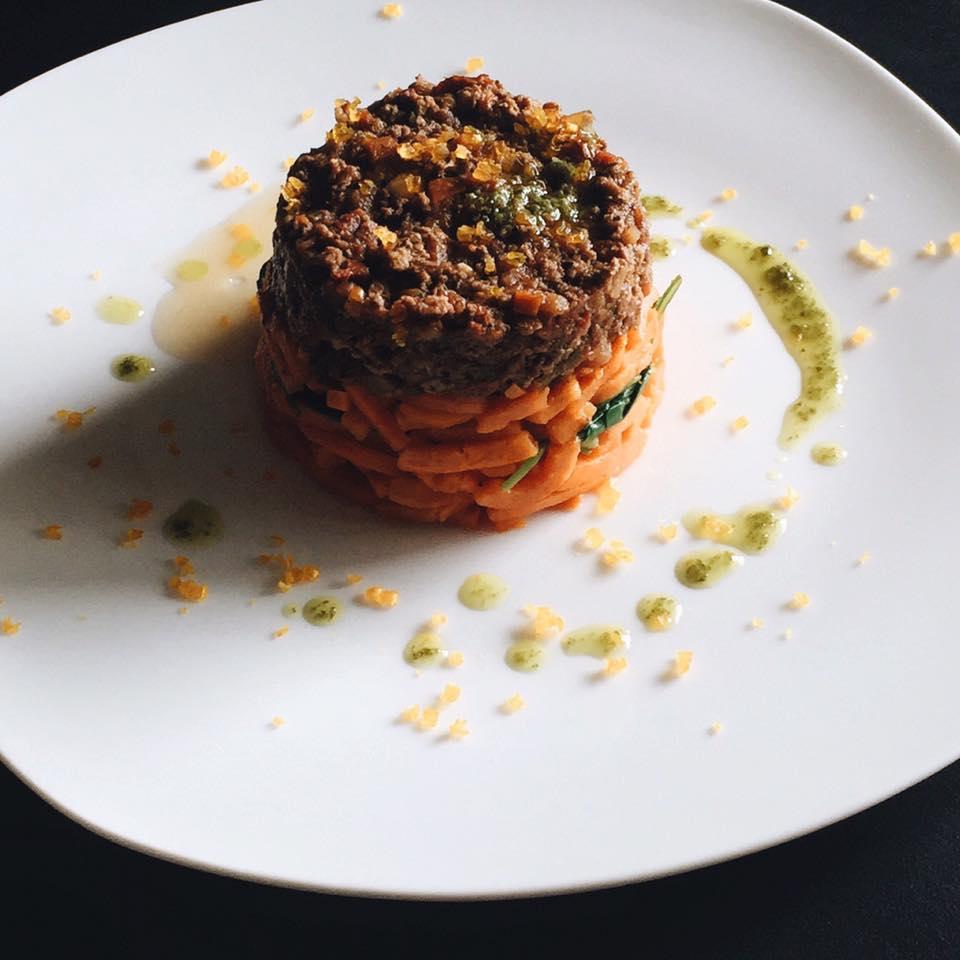 Yak and Pork Bolognese with Sweet Potato, LVBX Magazine