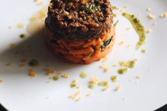 Yak and Pork Bolognese with Sweet Potato, LVBX Magazine